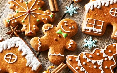 Proslava in Božičkova pravljica