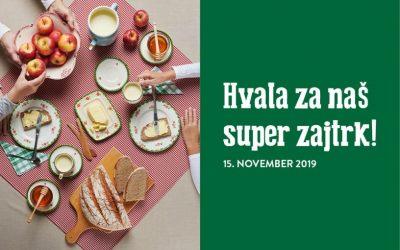 Dan slovenske hrane: Tradicionalni slovenski zajtrk 2019